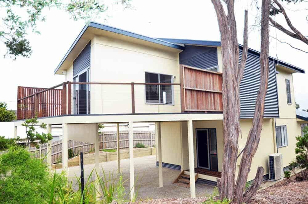 two storey custom built home