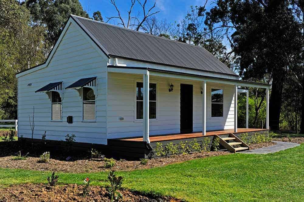 bungalow style home under construction
