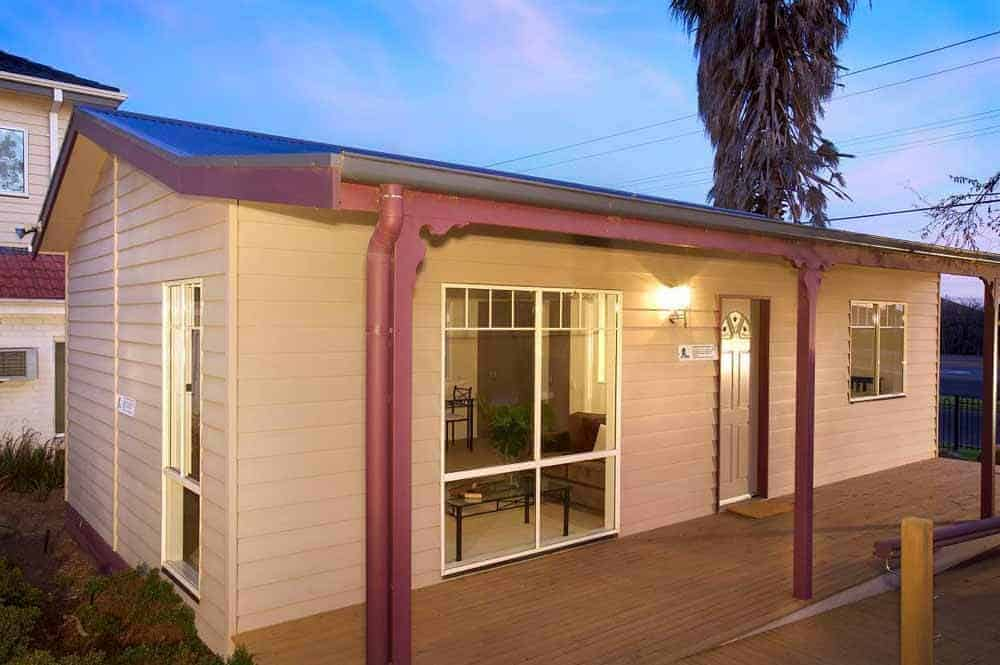 simple exterior design of a home