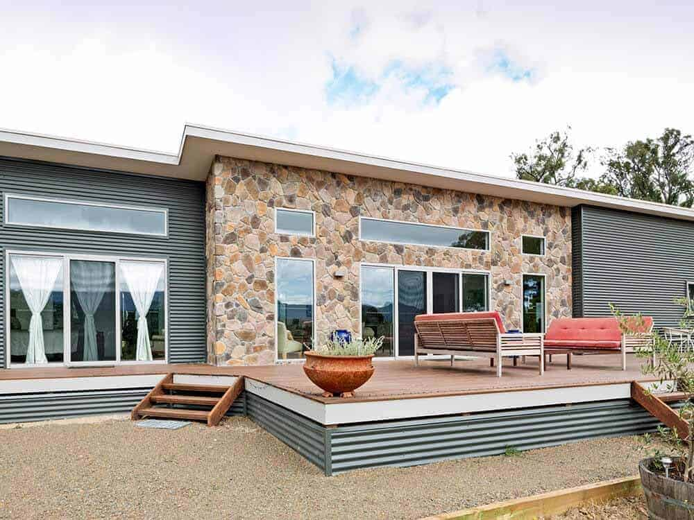 elegant exterior design of a home